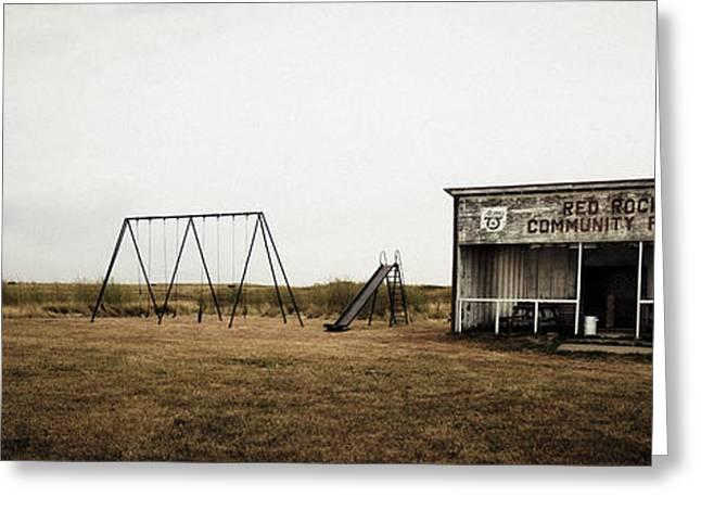 Lonesome Playground Greeting Card