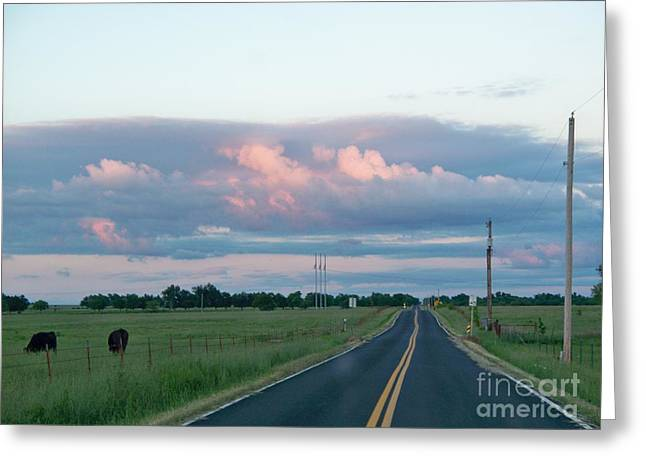 Long Road Home Greeting Card