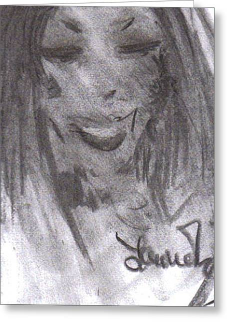 Look Of Love Greeting Card by Laurie L