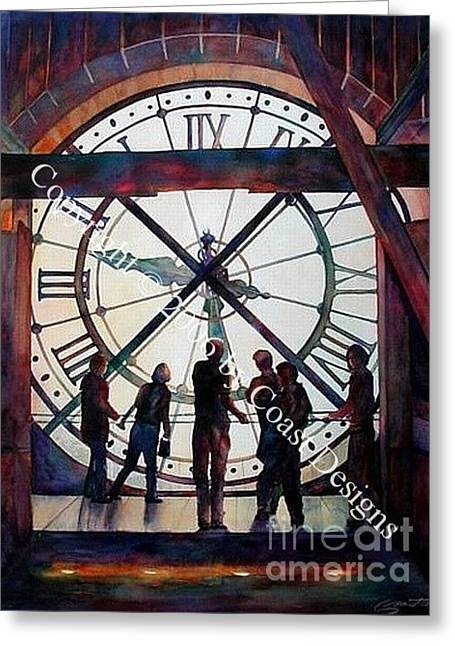 Looking Through Time Greeting Card
