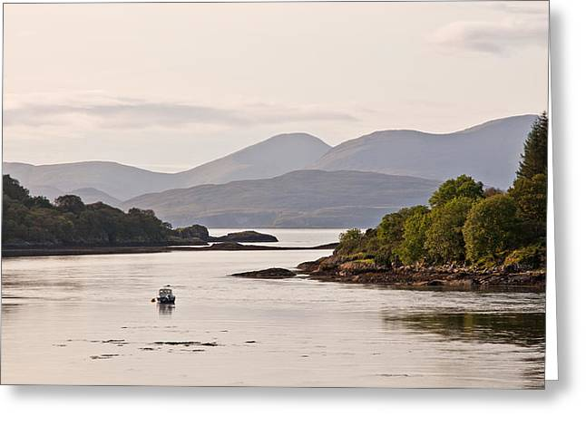 Looking To The Isle Of Mull Greeting Card