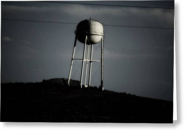Greeting Card featuring the photograph Lopsided Tower by Jessica Shelton
