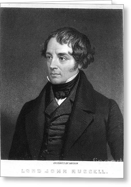 Lord John Russell Greeting Card by Granger