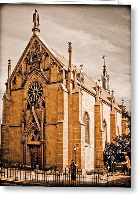 Loretto Chapel Greeting Card