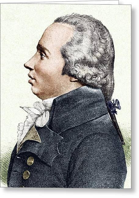 Louis Legendre, French Politician Greeting Card by Sheila Terry