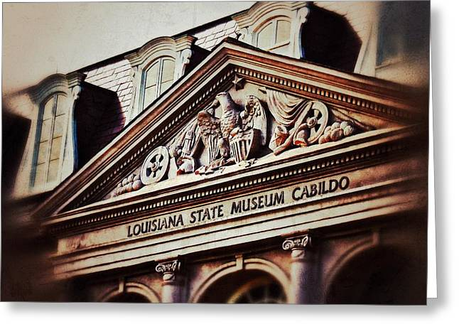 Greeting Card featuring the photograph Louisiana State Museum Cabildo by Jim Albritton
