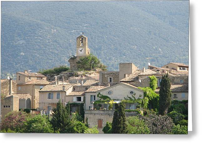 Greeting Card featuring the photograph Lourmarin In Provence by Carla Parris