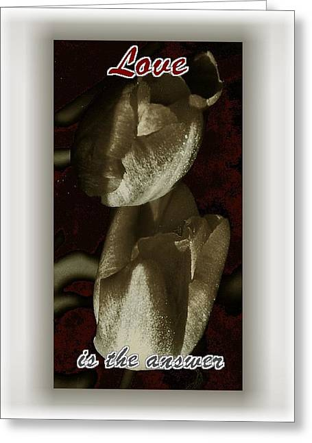 Love Greeting Card by Lynne and Don Wright