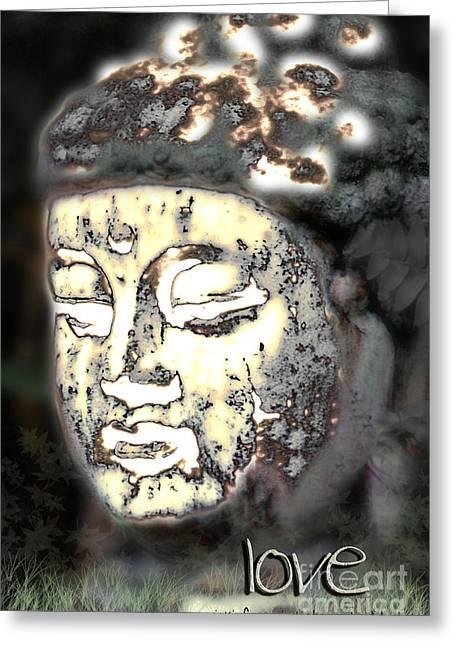 Greeting Card featuring the photograph Love Glows by Vicki Ferrari