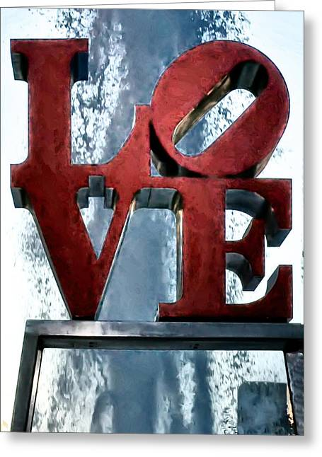 Love In The Afternoon Greeting Card by Bill Cannon