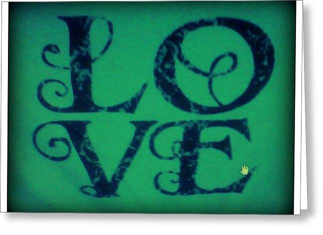 Love Greeting Card by Jessica Thomas