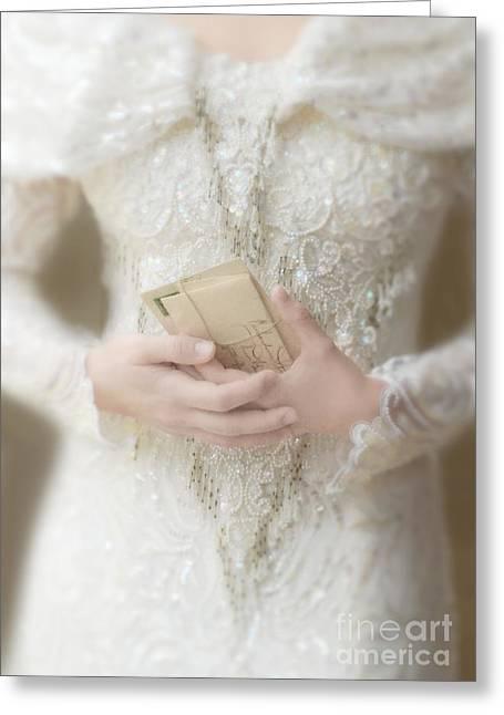 Love Letters Greeting Card by Jill Battaglia