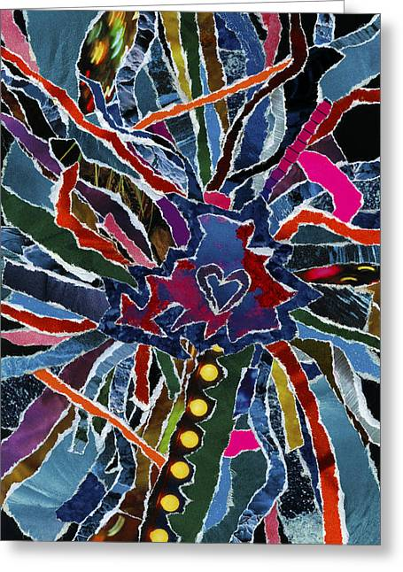 Love Spinner  Greeting Card by Kenneth James