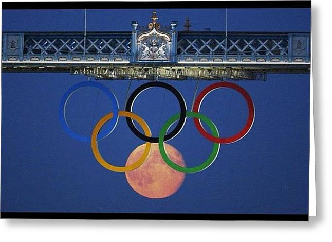 Love The #olympics #london2012 Greeting Card by Cyril Attias