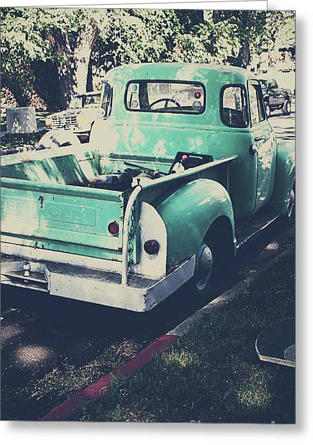 Love The Truck Greeting Card by Awildrose Photography