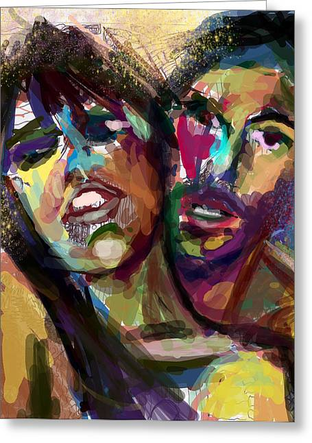 Lovers Greeting Card by James Thomas