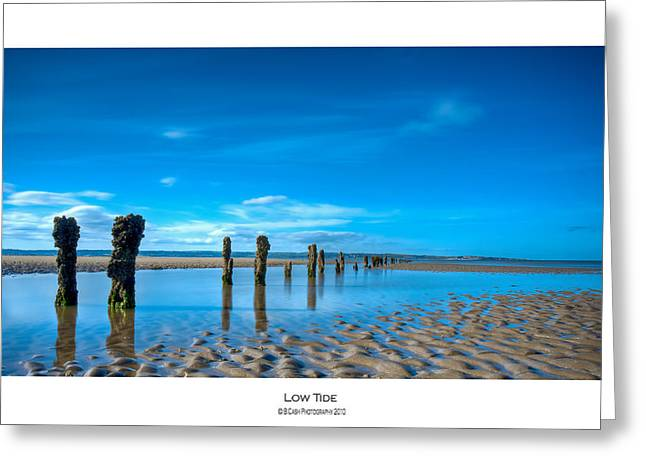 Low Tide Greeting Card by Beverly Cash
