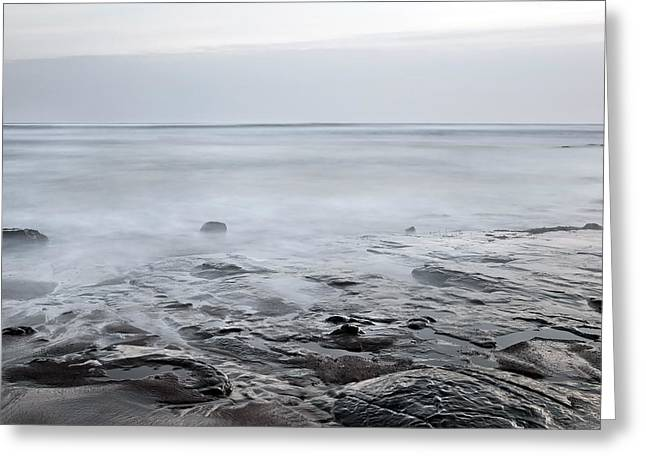 Low Tide Greeting Card by Svetlana Sewell