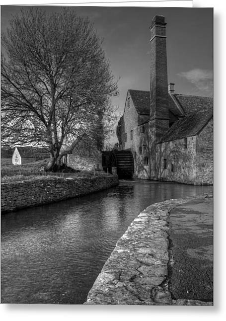 Lower Slaughter Mill Greeting Card by Nigel Jones