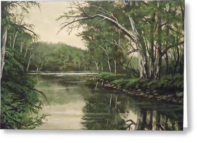Loyahanna Creek Greeting Card