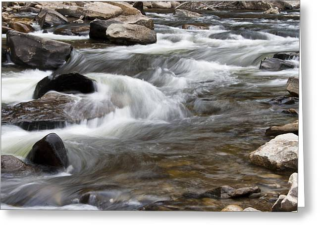Loyalsock Creek Gentle Rapids Greeting Card