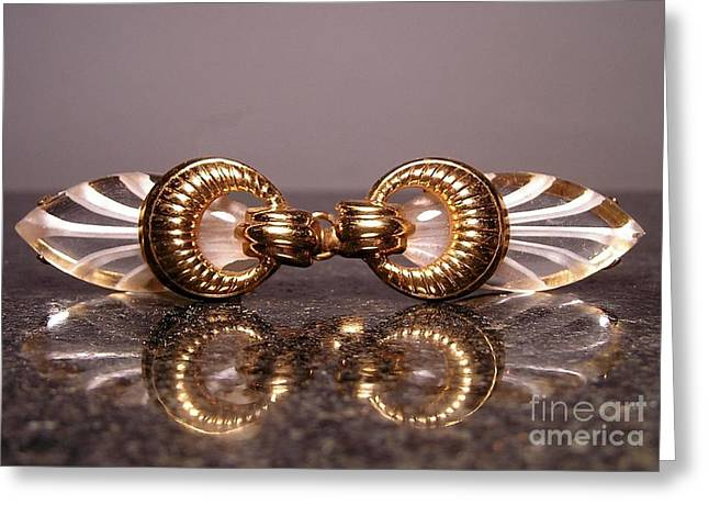 Lucite 19 Greeting Card