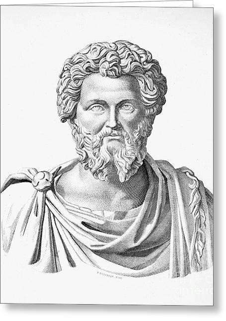 Lucius Septimius Severus Greeting Card by Granger