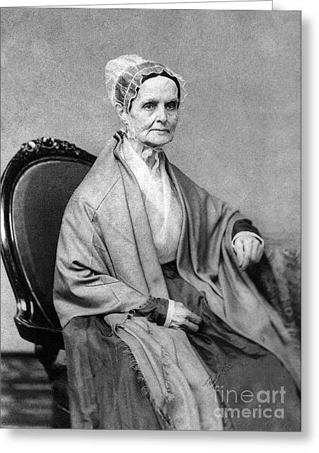 Lucretia Coffin Mott, American Activist Greeting Card