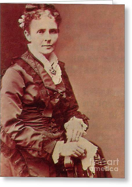 Lucretia Garfield Greeting Card