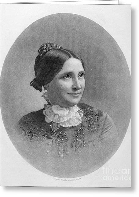 Lucy Hayes (1831-1889) Greeting Card by Granger