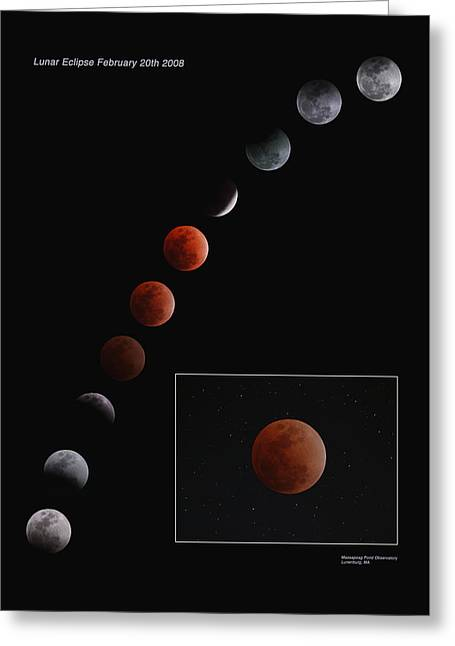 Lunar Eclipse 2008 Greeting Card