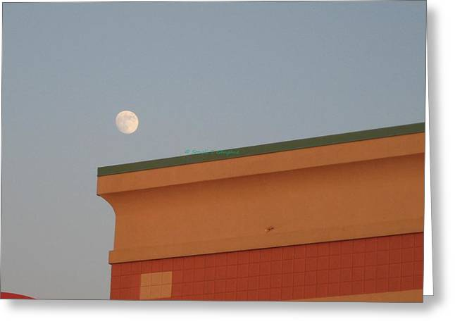 Lunar Perspective Greeting Card by Sonali Gangane