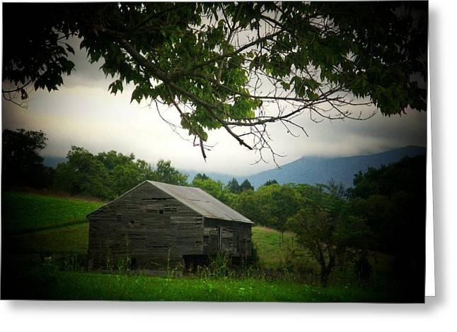 Luray Barn Greeting Card