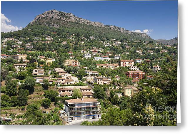 Luxury Hillside Houses And Apartments In Provence Greeting Card by Jon Boyes