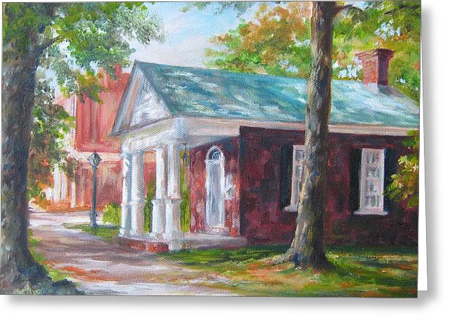 Lyceum Greeting Card by Gloria Turner