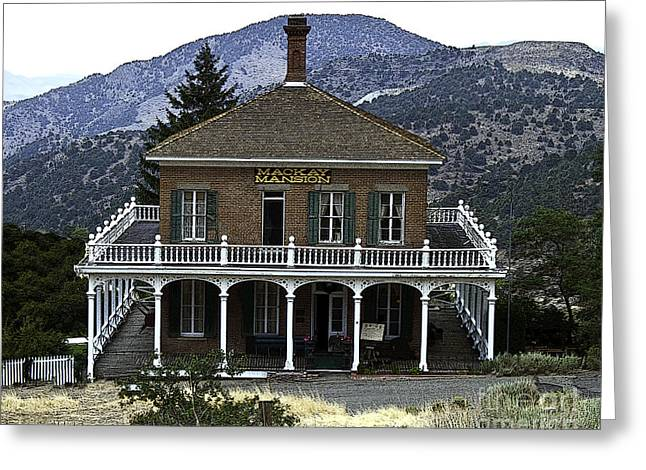 Mackay Mansion Greeting Card