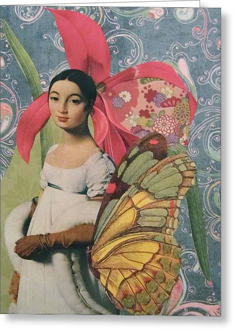 Mademoiselle Caroline  Greeting Card