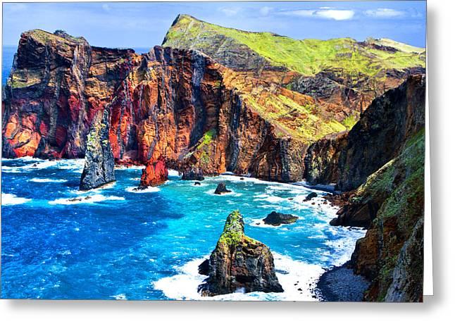 Greeting Card featuring the photograph Madera Bay by Rick Bragan