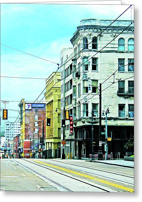 Greeting Card featuring the photograph Madison Avenue by Lizi Beard-Ward