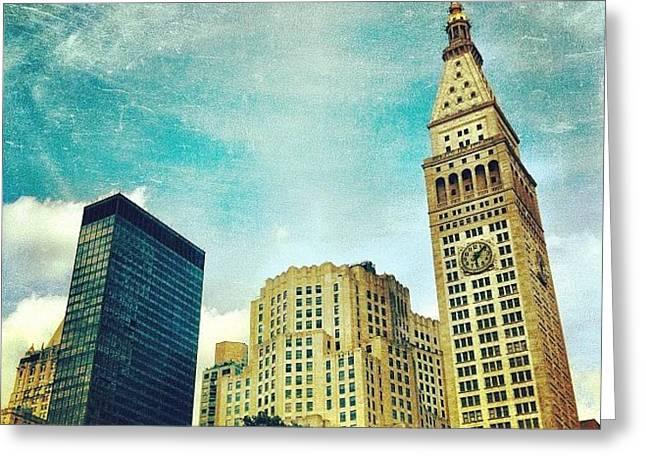 Madison Square Park. #nyc #manhattan Greeting Card