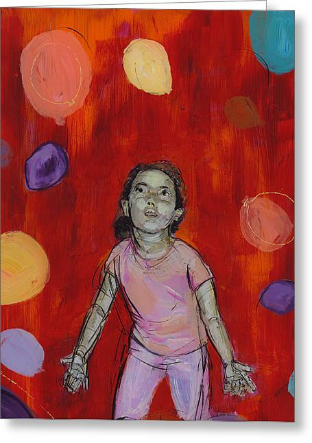 Mady Greeting Card by Eric Atkisson