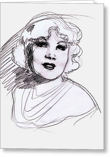 Mae West Greeting Card