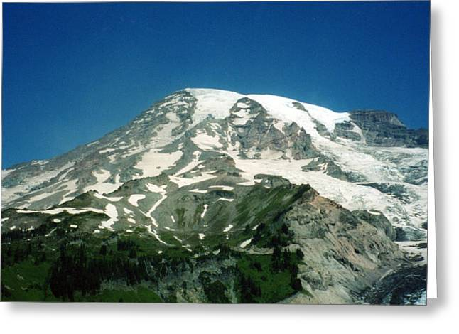 Magestic Rainier Greeting Card
