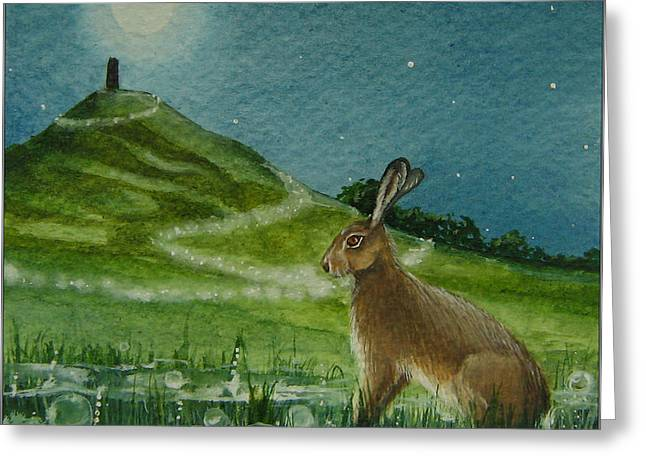 Magic Of The Tor Greeting Card by Lisa OMalley
