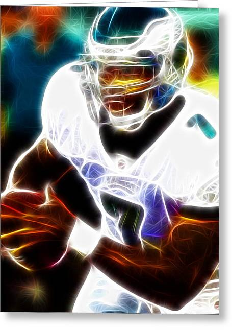 Magical Michael Vick Greeting Card