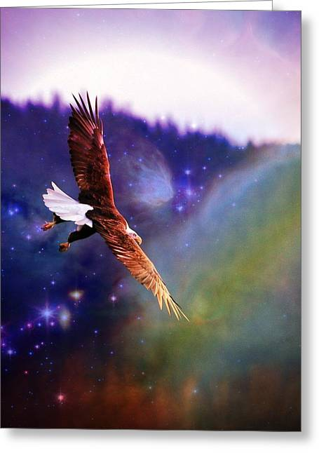 Magical Moment 2 Greeting Card by Carrie OBrien Sibley