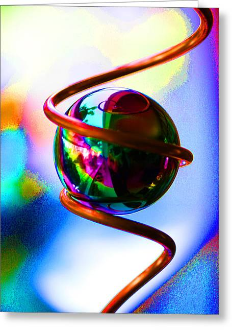 Magical Sphere Greeting Card
