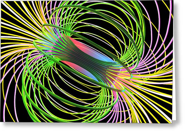 Magnetism 5 Greeting Card