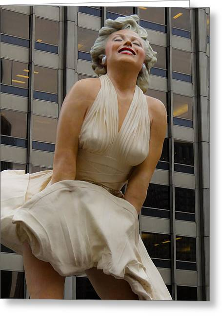 Magnificent Marilyn Greeting Card