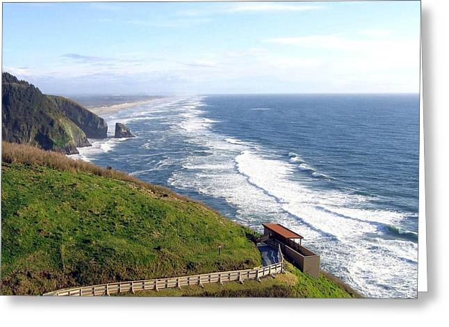 Magnificent Oregon Coast Greeting Card by Will Borden